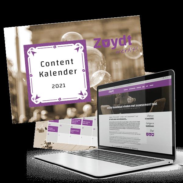 Zuydt Werkt! blog content kalender
